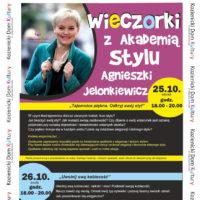 Wieczorki z Akademią Stylu Agnieszki Jelonkiewicz