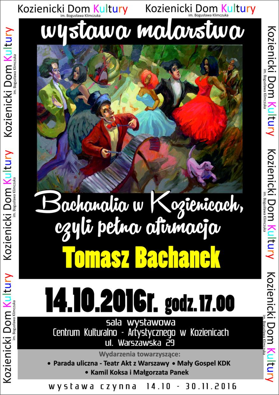 wystawa malarstwa Tomasza Bachanka