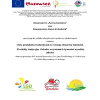 Bezpłatne szkolenie w biurze LGD – Kozienice 12.10.2015