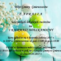 I Kiermasz Wielkanocny w Gniewoszowie