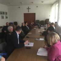 Spotkanie konsultacyjne  w gminie Gniewoszów