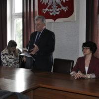 Spotkanie informacyjne z mieszkańcami gminy Grabów nad Pilicą