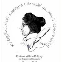 XV Ogólnopolski Konkurs Literacki im. Marii Komornickiej
