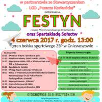 Festyn z okazji Międzynarodowego Dnia Dziecka