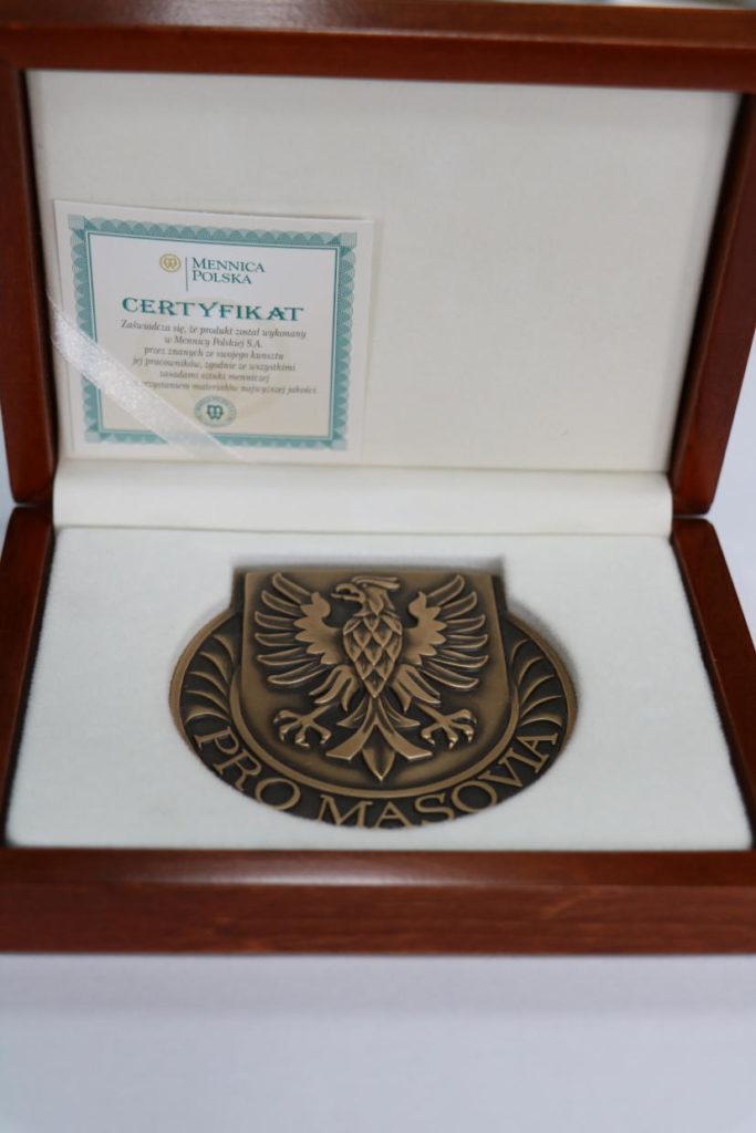 """Medal pamiątkowy """"Pro Masovia"""""""