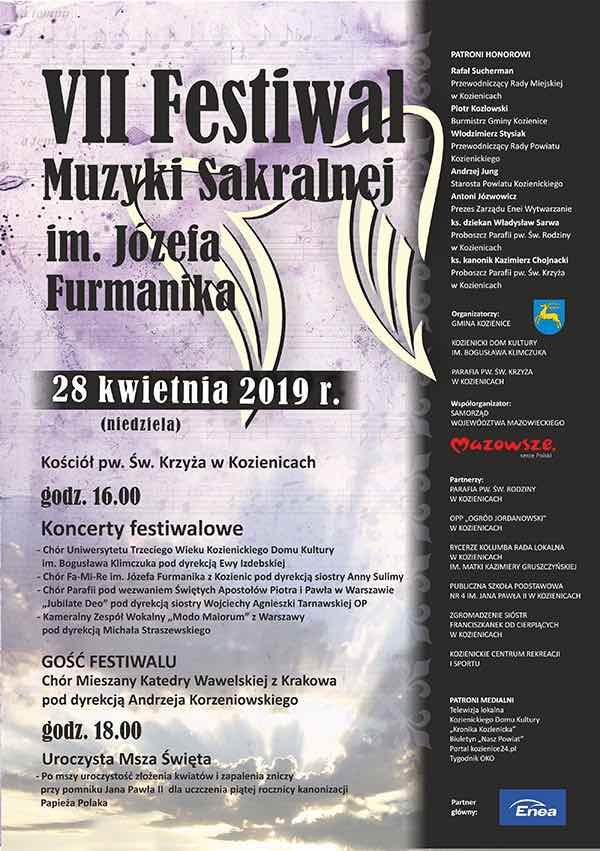 Zaproszenie na festiwal muzyki sakralnej