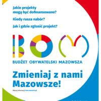 Rusza nabór projektów do Budżetu Obywatelskiego Mazowsza!
