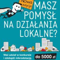 Kolejna edycja konkursu FIO – Mazowsze Lokalnie